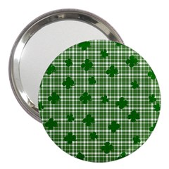 St. Patrick s day pattern 3  Handbag Mirrors