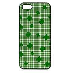 St. Patrick s day pattern Apple iPhone 5 Seamless Case (Black)