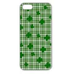St. Patrick s day pattern Apple Seamless iPhone 5 Case (Clear)