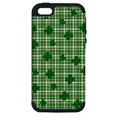 St. Patrick s day pattern Apple iPhone 5 Hardshell Case (PC+Silicone)