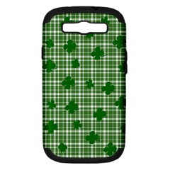 St. Patrick s day pattern Samsung Galaxy S III Hardshell Case (PC+Silicone)