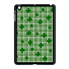 St. Patrick s day pattern Apple iPad Mini Case (Black)