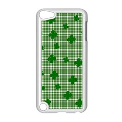 St. Patrick s day pattern Apple iPod Touch 5 Case (White)