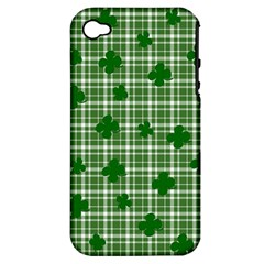 St. Patrick s day pattern Apple iPhone 4/4S Hardshell Case (PC+Silicone)