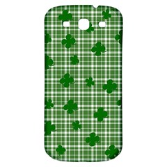 St. Patrick s day pattern Samsung Galaxy S3 S III Classic Hardshell Back Case