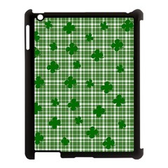 St. Patrick s day pattern Apple iPad 3/4 Case (Black)