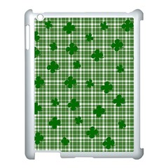 St. Patrick s day pattern Apple iPad 3/4 Case (White)