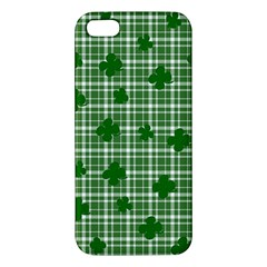 St. Patrick s day pattern Apple iPhone 5 Premium Hardshell Case