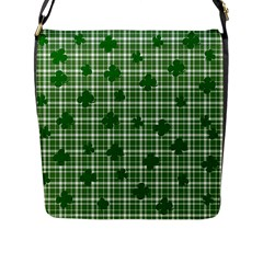 St. Patrick s day pattern Flap Messenger Bag (L)