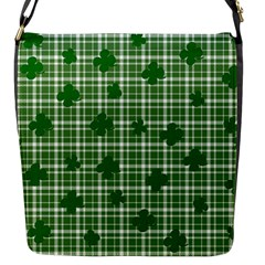 St. Patrick s day pattern Flap Messenger Bag (S)