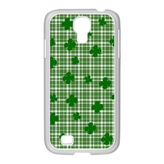 St. Patrick s day pattern Samsung GALAXY S4 I9500/ I9505 Case (White)