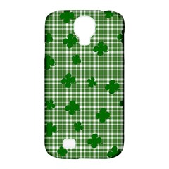 St. Patrick s day pattern Samsung Galaxy S4 Classic Hardshell Case (PC+Silicone)