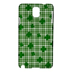 St. Patrick s day pattern Samsung Galaxy Note 3 N9005 Hardshell Case
