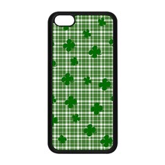 St. Patrick s day pattern Apple iPhone 5C Seamless Case (Black)
