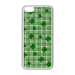 St. Patrick s day pattern Apple iPhone 5C Seamless Case (White)