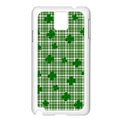 St. Patrick s day pattern Samsung Galaxy Note 3 N9005 Case (White)
