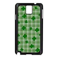 St. Patrick s day pattern Samsung Galaxy Note 3 N9005 Case (Black)