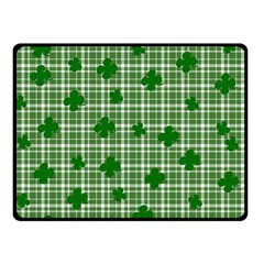 St. Patrick s day pattern Double Sided Fleece Blanket (Small)