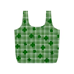 St. Patrick s day pattern Full Print Recycle Bags (S)