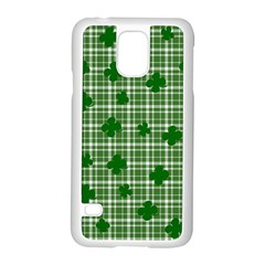 St. Patrick s day pattern Samsung Galaxy S5 Case (White)