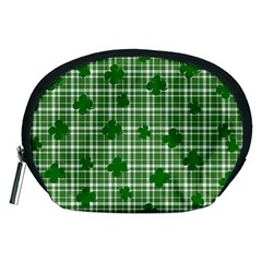 St. Patrick s day pattern Accessory Pouches (Medium)