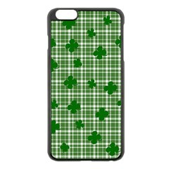 St. Patrick s day pattern Apple iPhone 6 Plus/6S Plus Black Enamel Case