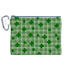 St. Patrick s day pattern Canvas Cosmetic Bag (XL)