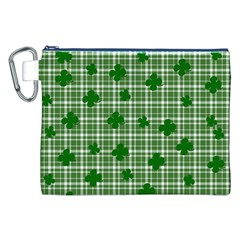 St. Patrick s day pattern Canvas Cosmetic Bag (XXL)