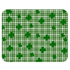 St. Patrick s day pattern Double Sided Flano Blanket (Medium)