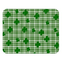 St. Patrick s day pattern Double Sided Flano Blanket (Large)
