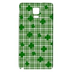 St. Patrick s day pattern Galaxy Note 4 Back Case