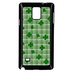 St. Patrick s day pattern Samsung Galaxy Note 4 Case (Black)