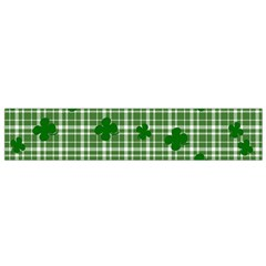 St. Patrick s day pattern Flano Scarf (Small)