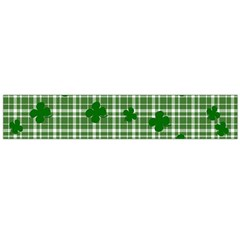 St. Patrick s day pattern Flano Scarf (Large)