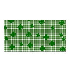 St. Patrick s day pattern Satin Wrap