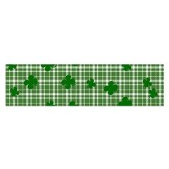 St. Patrick s day pattern Satin Scarf (Oblong)