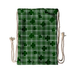 St. Patrick s day pattern Drawstring Bag (Small)