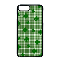 St. Patrick s day pattern Apple iPhone 7 Plus Seamless Case (Black)