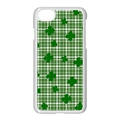St. Patrick s day pattern Apple iPhone 7 Seamless Case (White)