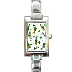 St. Patricks day  Rectangle Italian Charm Watch