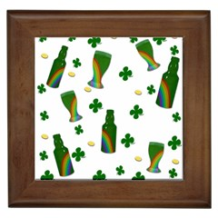 St. Patricks day  Framed Tiles