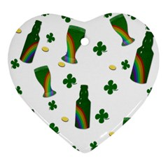 St. Patricks day  Ornament (Heart)