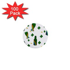 St. Patricks day  1  Mini Buttons (100 pack)