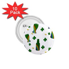 St. Patricks day  1.75  Buttons (10 pack)