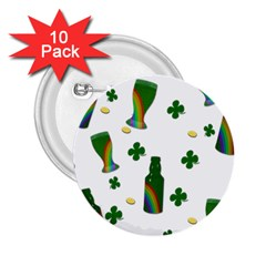 St. Patricks day  2.25  Buttons (10 pack)