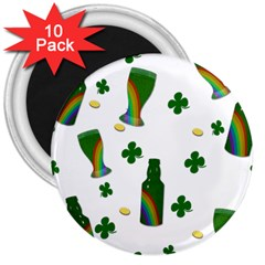 St. Patricks day  3  Magnets (10 pack)