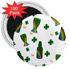 St. Patricks day  3  Magnets (100 pack)