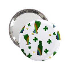St. Patricks day  2.25  Handbag Mirrors
