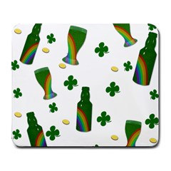 St. Patricks day  Large Mousepads