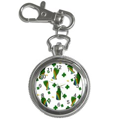 St. Patricks day  Key Chain Watches